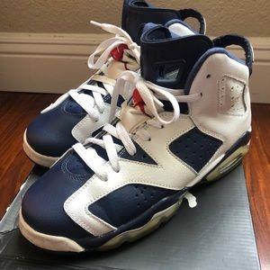 Air Jordan Olympic 6s Retro GS 6 sneakers